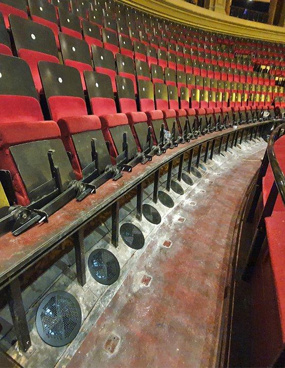 Royal Albert Hall cooling