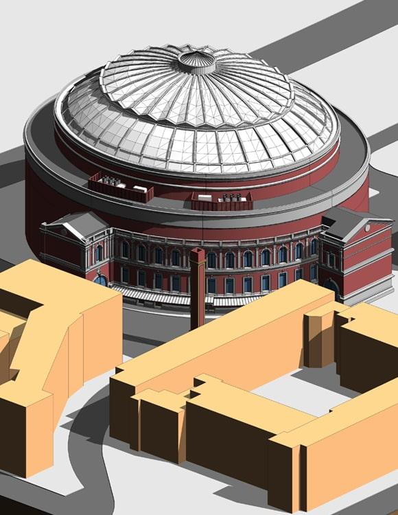 Royal Albert Hall BIM